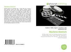 Обложка Marlene Dietrich