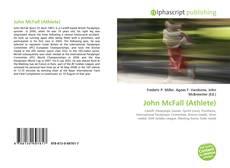 Portada del libro de John McFall (Athlete)