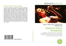 Portada del libro de Madonna albums Discography