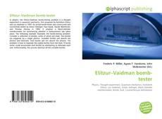 Buchcover von Elitzur–Vaidman bomb-tester