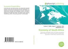 Обложка Economy of South Africa
