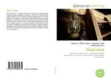 Davy Lamp kitap kapağı