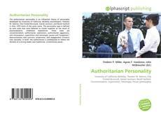 Borítókép a  Authoritarian Personality - hoz