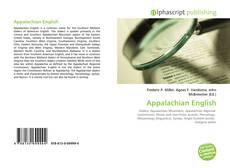 Bookcover of Appalachian English