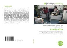Bookcover of Family Affair