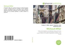 Portada del libro de Michaud Affair