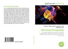 Copertina di Morrissey Discography