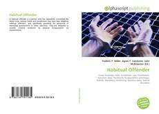 Habitual Offender kitap kapağı