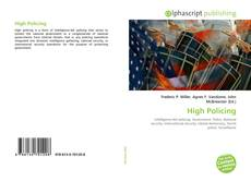 High Policing kitap kapağı