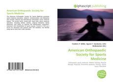 American Orthopaedic Society for Sports Medicine kitap kapağı