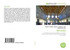 Copertina di Art Critic