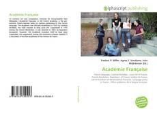 Académie Française kitap kapağı
