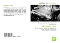 Bookcover of License to Drive