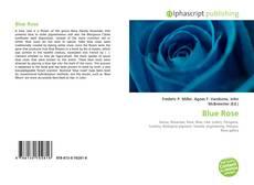 Portada del libro de Blue Rose