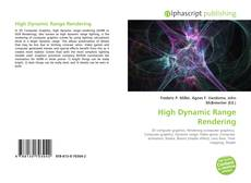 Copertina di High Dynamic Range Rendering