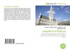 Capa do livro de Leopold III of Belgium