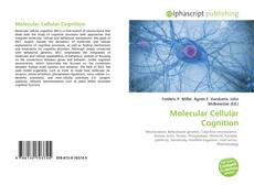 Bookcover of Molecular Cellular Cognition