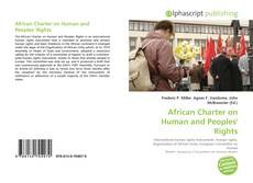 Bookcover of African Charter on Human and Peoples' Rights