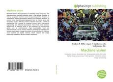 Couverture de Machine vision