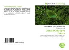 Bookcover of Complex Adaptive System