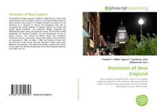 Bookcover of Dominion of New England