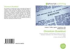 Bookcover of Chronicon (Eusebius)
