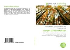 Bookcover of Joseph Dalton Hooker