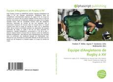 Обложка Équipe d'Angleterre de Rugby à XV