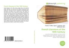 Bookcover of French Literature of the 18th Century