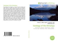 Bookcover of Geology of the Himalaya