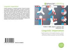Copertina di Linguistic imperialism