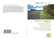 Capa do livro de Chrysler Sebring (convertible)