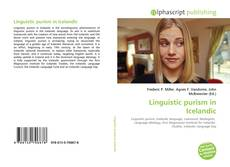 Bookcover of Linguistic purism in Icelandic