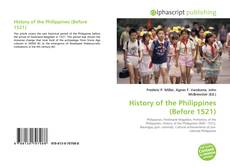 Bookcover of History of the Philippines (Before 1521)