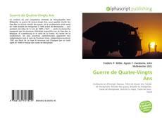 Bookcover of Guerre de Quatre-Vingts Ans