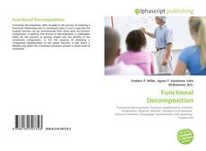 Couverture de Functional Decomposition