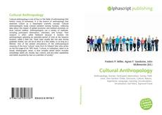 Обложка Cultural Anthropology