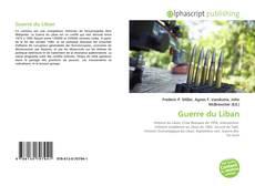 Bookcover of Guerre du Liban