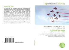 Capa do livro de Guerre et Paix