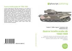 Copertina di Guerre Israélo-arabe de 1948-1949