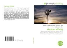 Couverture de Electron affinity