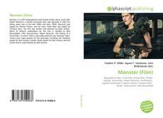Capa do livro de Monster (Film)