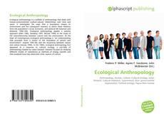 Обложка Ecological Anthropology
