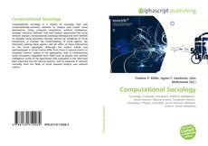 Computational Sociology kitap kapağı