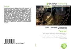 Capa do livro de Twelver