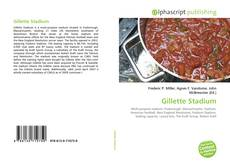 Bookcover of Gillette Stadium