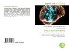 Declarative Memory的封面