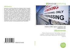 Buchcover von Abstinence