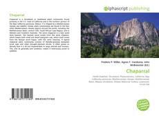 Обложка Chaparral