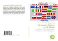 Democratic Alliance (South Africa)的封面